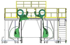 Work Platform Designed to Interface with Aircraft Structure