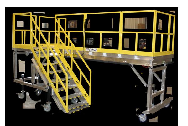 Spika Deployable Maintenance Stand