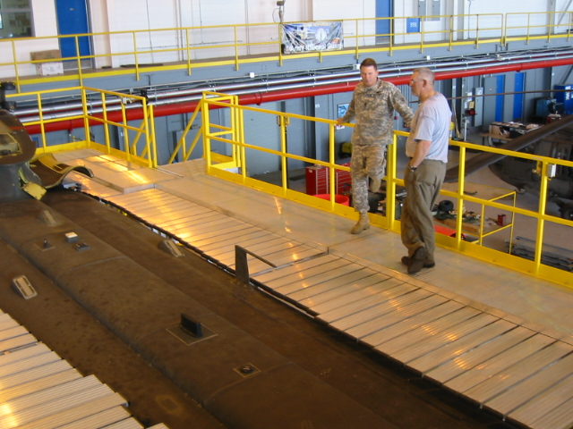 Using Guardrails for Fall Protection
