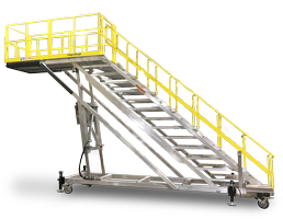 Spika RangerMax Series work platform provides extensive cantilever access with extreme height adjustability