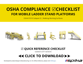 OSHA Compliant Work Platform Checklist Download